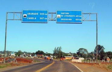 En Auto a Brasil ruta